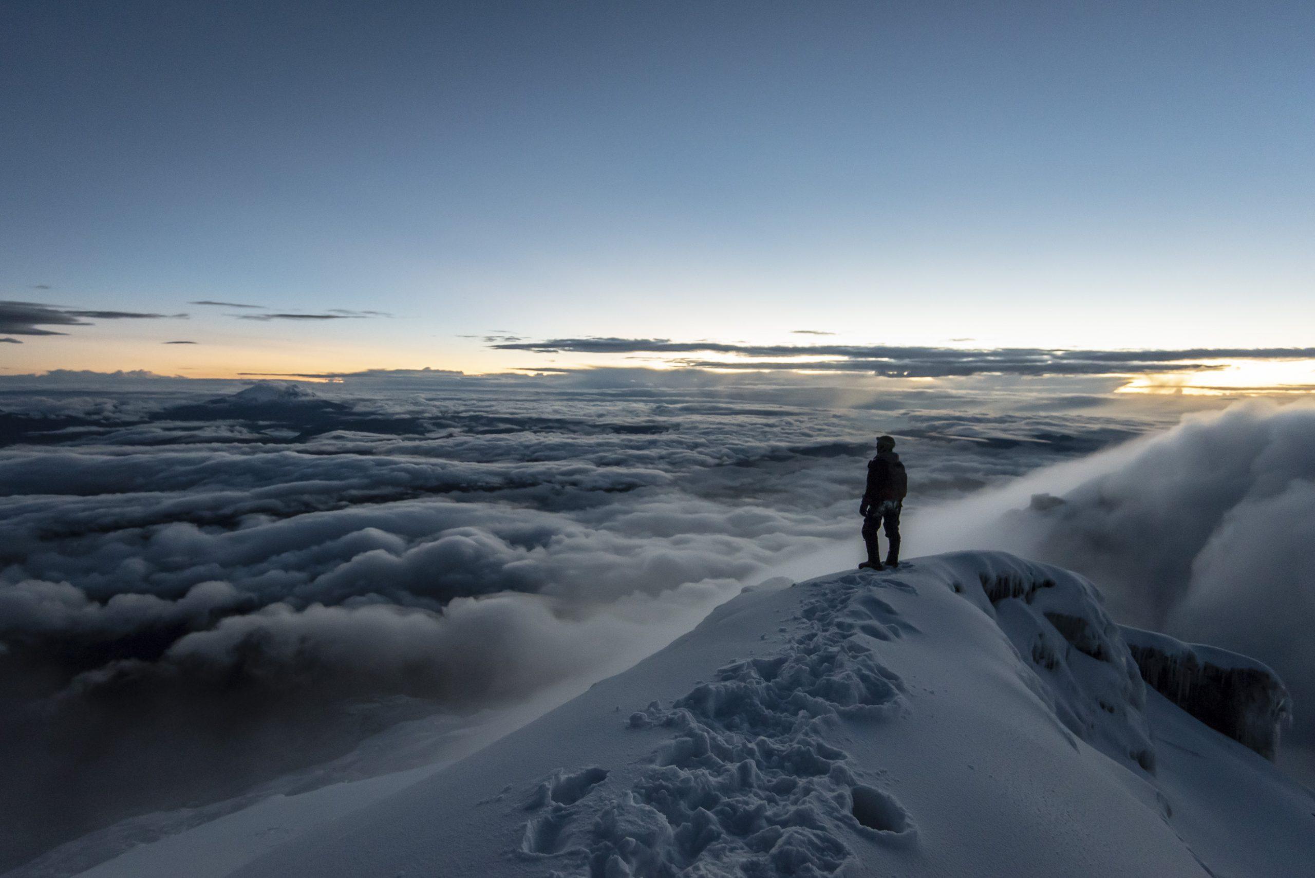 Du haut du Cotopaxi