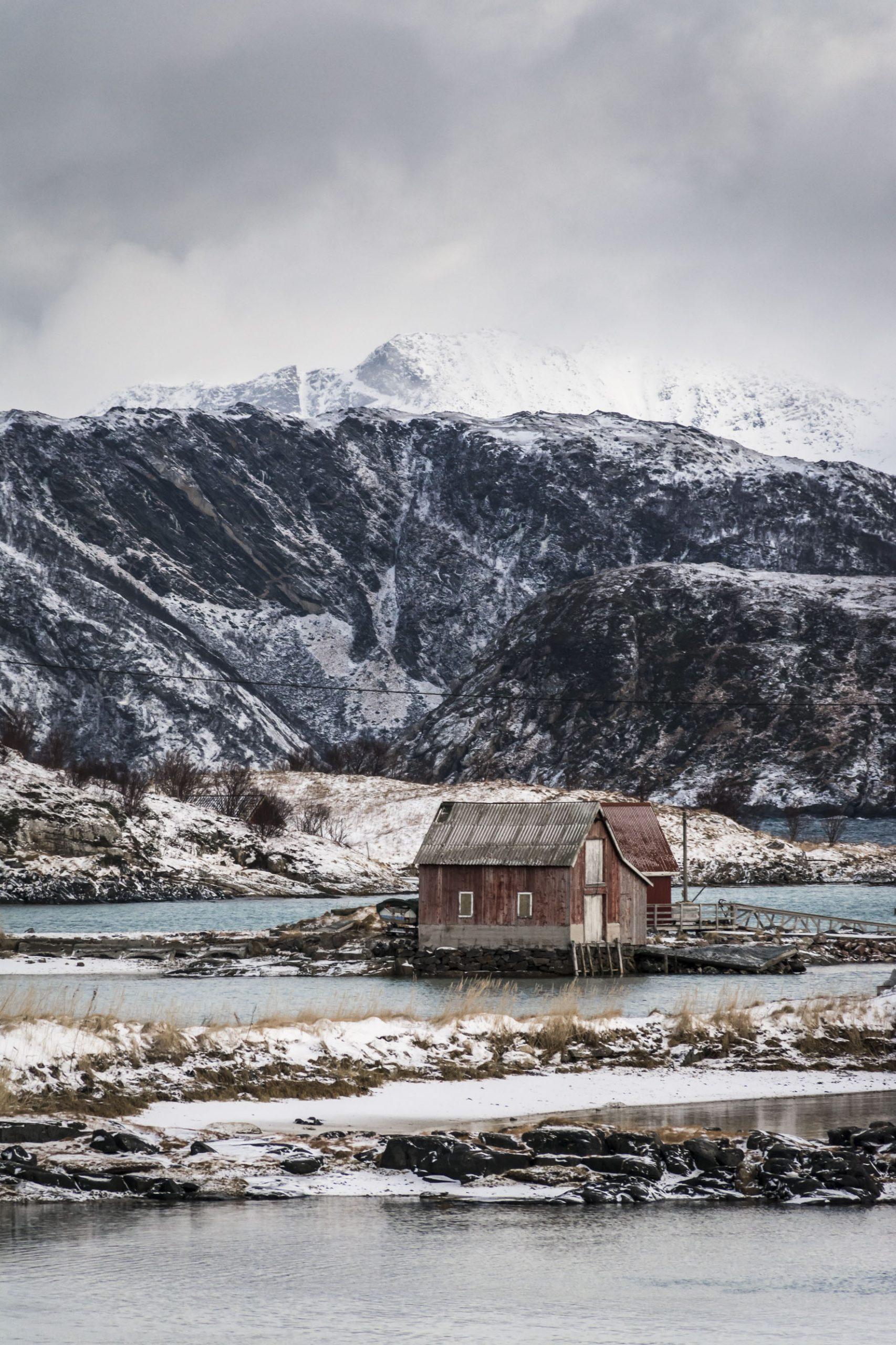 La cabane de Sommarøy